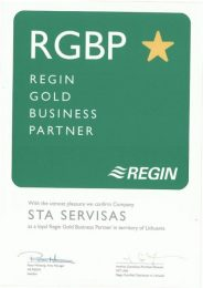 Regin Gold Business partner