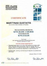 KNX sertifikatas